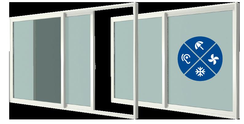 Na zdjęciu pokazane są przykładowe okna. Pokazane są przykładowe anagramy przedczym okno chroni.